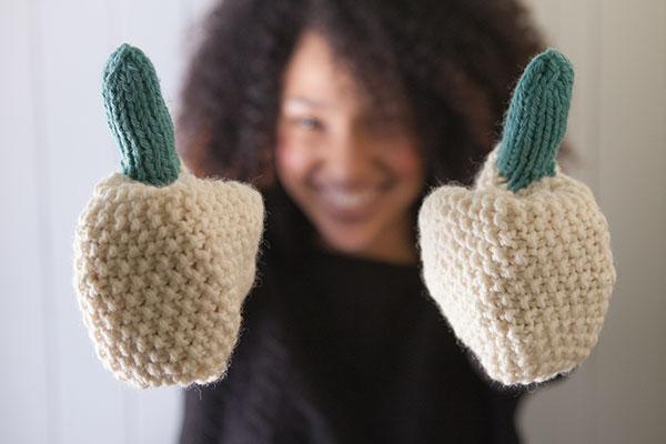 Knit Picky Patterns : Intermix Mittens - Knitting Patterns and Crochet Patterns ...