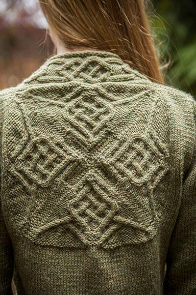 Dealla Cardigan - Knitting Patterns and Crochet Patterns from KnitPicks.com b...