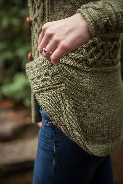 Knit Picky Free Patterns : Dealla Cardigan - Knitting Patterns and Crochet Patterns from KnitPicks.com b...