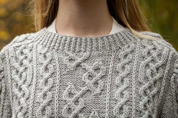 Knit Picky Patterns : Barra Pullover - Knitting Patterns and Crochet Patterns ...