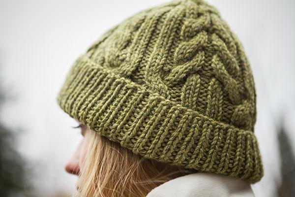 Knit Picky Patterns : Antrim Hat - Knitting Patterns and Crochet Patterns from ...