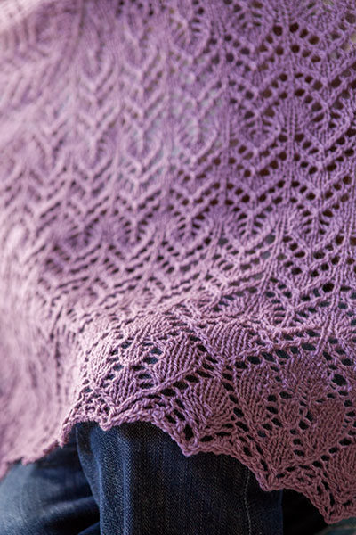 Shifting Lace Shawl - Knitting Patterns and Crochet Patterns from KnitPicks.c...