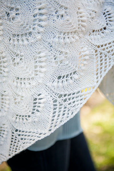 Easiest Shawl Pattern. Ever. - YouTube