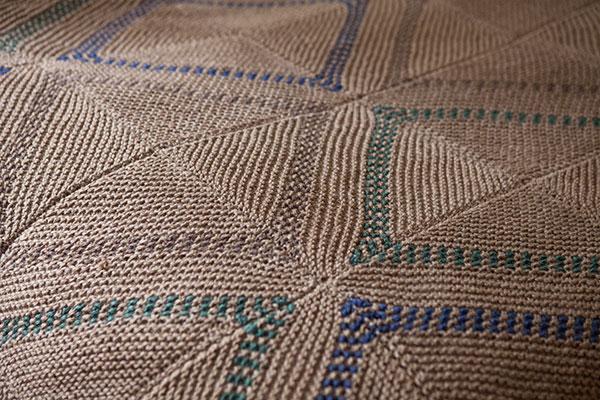 Modular Knitting Patterns : Modular Dots Afghan - Knitting Patterns and Crochet Patterns from KnitPicks.c...