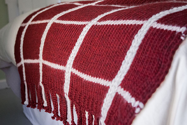 Plaid Afghan - Knitting Patterns and Crochet Patterns from KnitPicks.com by E...