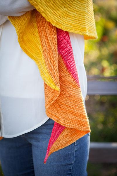 Helianthus Shawl - Knitting Patterns and Crochet Patterns ...