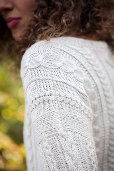 Knit Picky Patterns : Aisling Pullover - Knitting Patterns and Crochet Patterns ...