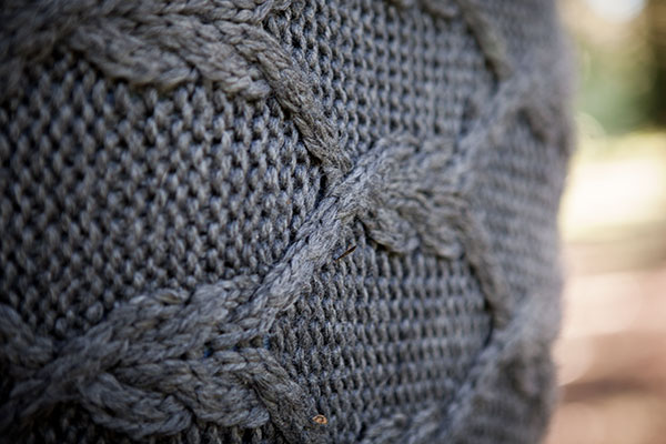 Free Afghan Knitting Patterns Circular Needles : Hex Cable Afghan - Knitting Patterns and Crochet Patterns from KnitPicks.com ...