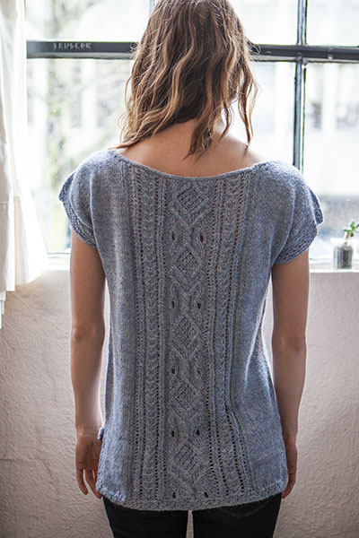 Knit Picky Patterns : Cabri Shell - Knitting Patterns and Crochet Patterns from ...
