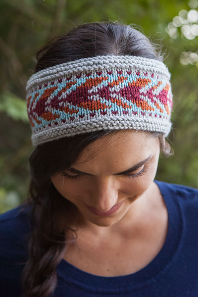 Arrows Headband - Knitting Patterns and Crochet Patterns from ...