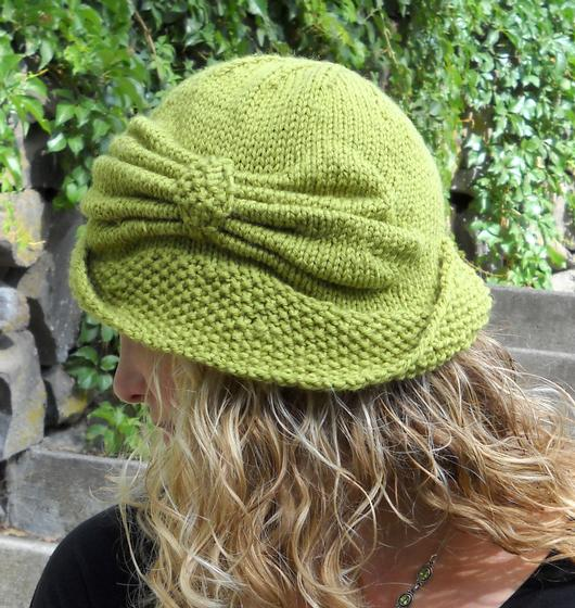 Cloche Hat Pattern Knitting : Cloche Divine - Knitting Patterns and Crochet Patterns from KnitPicks.com