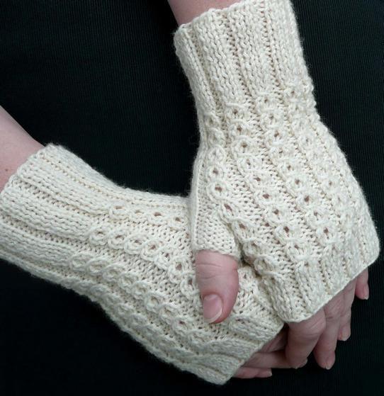 Knitting Patterns Uk Fingerless Gloves : Bonbons fingerless mitts knitting patterns and crochet
