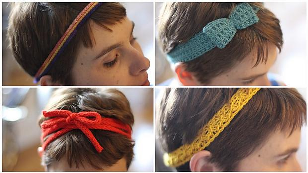 Free knitting patterns for Headbands