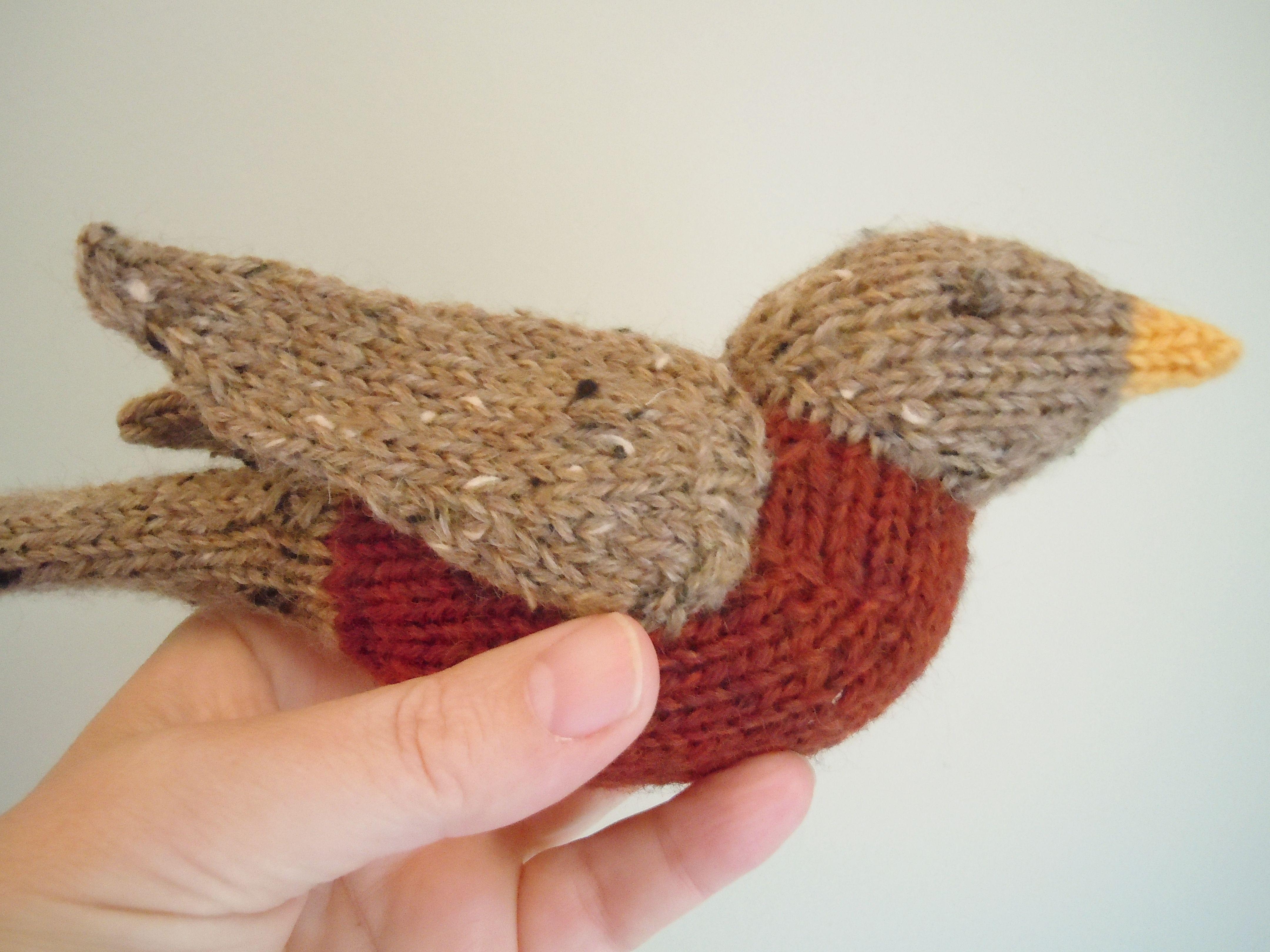 Spring Robin Pattern - Knitting Patterns and Crochet Patterns from KnitPicks.com