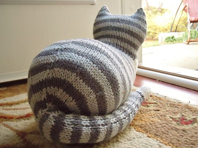 Free Crochet Patterns Cat : The Parlor Cat Pattern - Knitting Patterns and Crochet ...