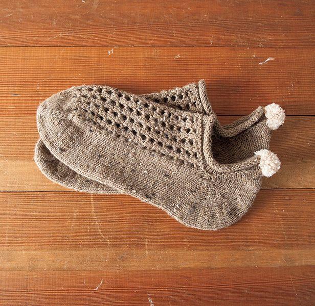 Hat Patterns For Knitting : Bunny Hop Anklets Pattern - Knitting Patterns and Crochet Patterns from KnitP...