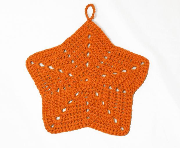 Knitted Starfish Pattern : Starfish Crochet Washcloth - Knitting Patterns and Crochet Patterns from Knit...