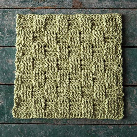 Picnic Basket Crochet Dishcloth - Knitting Patterns and ...
