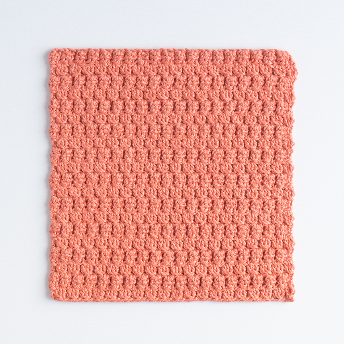 Little Leaves Crochet Dishcloth - Knitting Patterns and Crochet Patterns from...