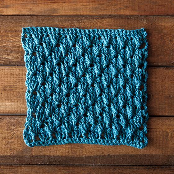 Knitting Stitches Shell Pattern : Dancing Shells Crochet Dishcloth - Knitting Patterns and Crochet Patterns fro...