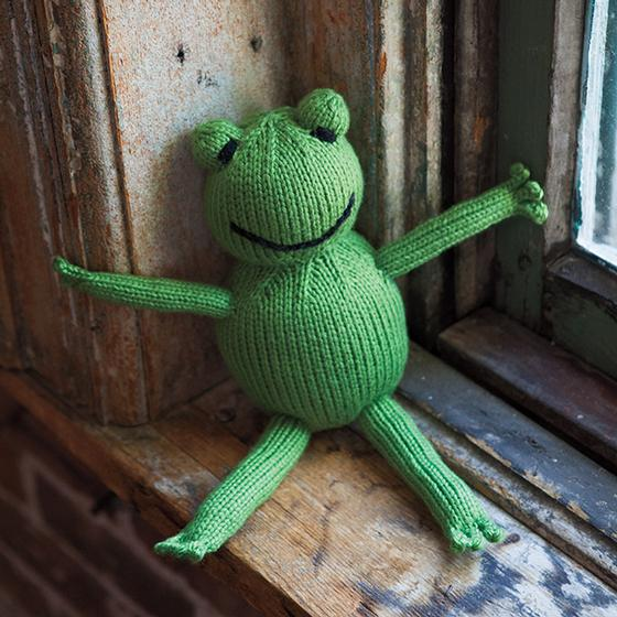 Froggy a Free knitting pattern to download