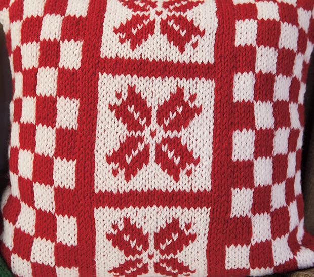 Holiday Pillow Set - Knitting Patterns and Crochet Patterns from KnitPicks.com
