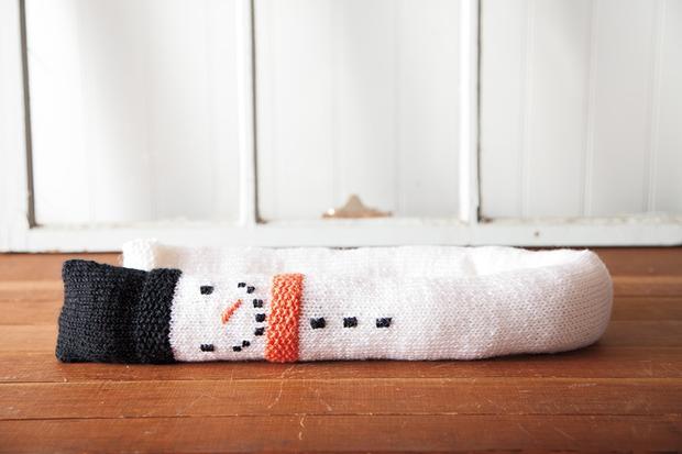 Snowman Draft Stopper from knitpicks.com