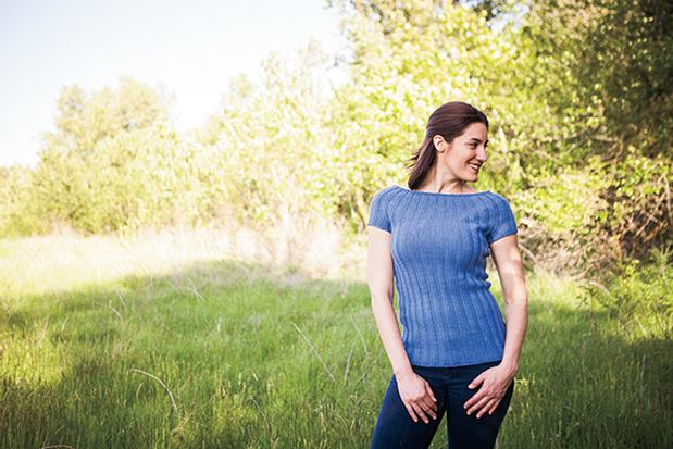 Free Short Sleeve Sweater Knitting Pattern