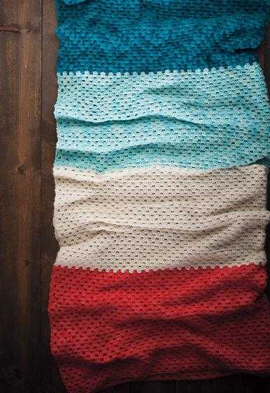 Crochet Beginner Blanket - Knitting Patterns and Crochet Patterns from KnitPi...