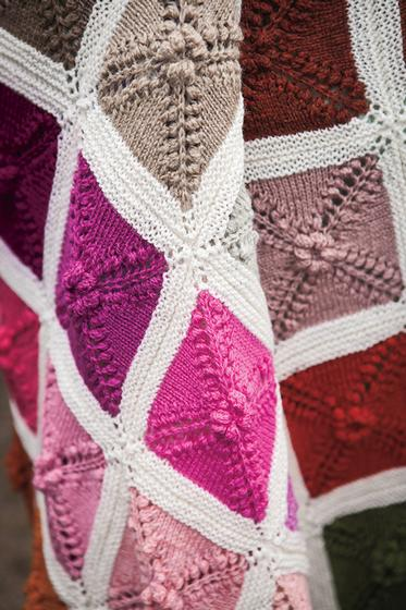 Ultimate Knit Palette Blanket Free Knitting Pattern for Palette Blanket