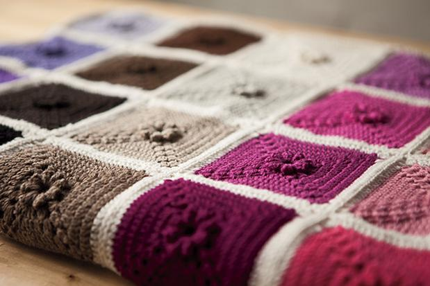 Ultimate Crochet Palette Blanket - Knitting Patterns and Crochet Patterns from KnitPicks.com