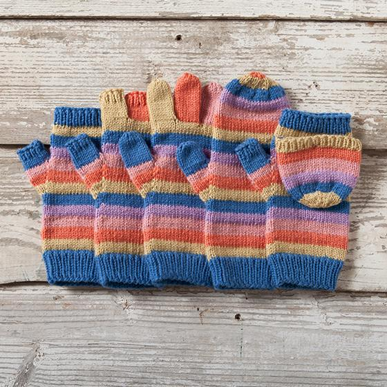 Line by Line Mittens