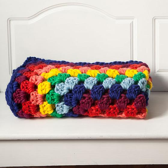 Tuff Granny Throw - Free Crochet pattern