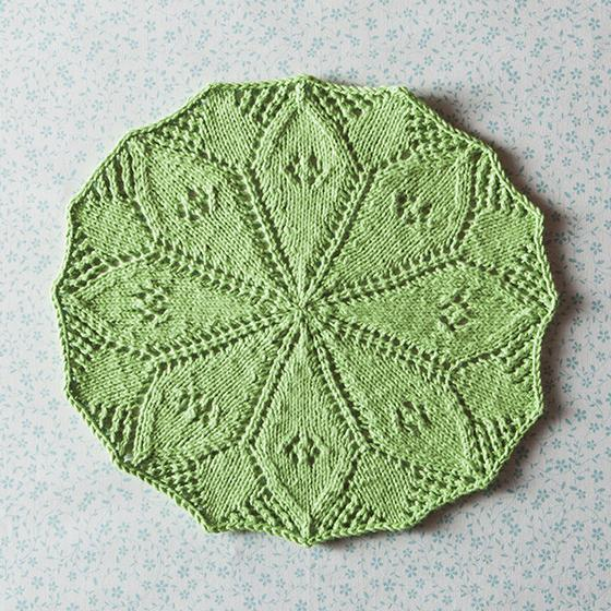 Lydia s Lily Pad - Knitting Patterns and Crochet Patterns from KnitPicks.com
