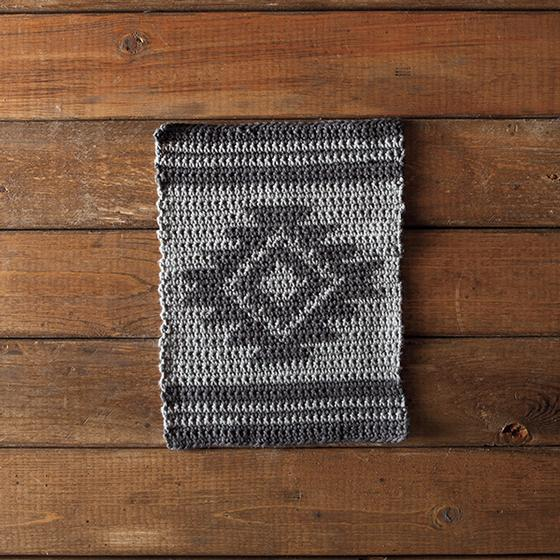 Aztec Crochet Dishcloth - Knitting Patterns and Crochet Patterns from KnitPic...