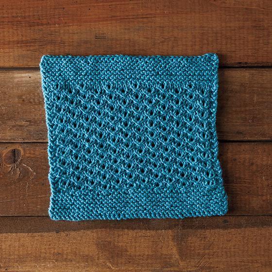 Dishcloth Knitting Pattern Books : Sunny Days Dishcloth - Knitting Patterns and Crochet ...