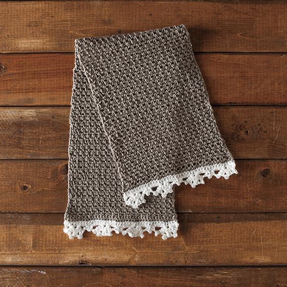 Heirloom Linen Crochet Dishcloth - Knitting Patterns and Crochet Patterns fro...