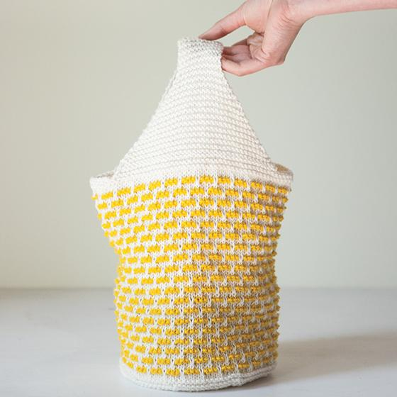 Lovely Lunch Bag - Knitting Patterns and Crochet Patterns from KnitPicks.com