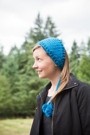 Ski Bunny Headband - Knitting Patterns and Crochet Patterns from KnitPicks.com