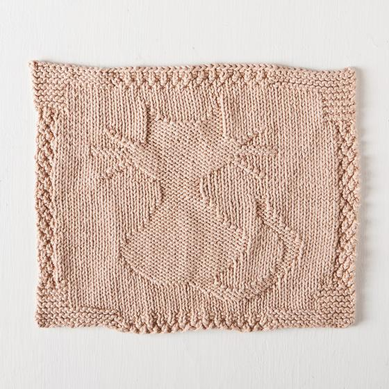 Kitten Kaboodle Dishcloth - Knitting Patterns and Crochet Patterns from KnitP...