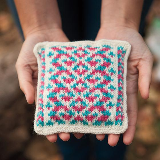 Free Knit Sachet Pattern - Fun with Fair Isle Lavender Sachets Pattern - Knitpicks.com