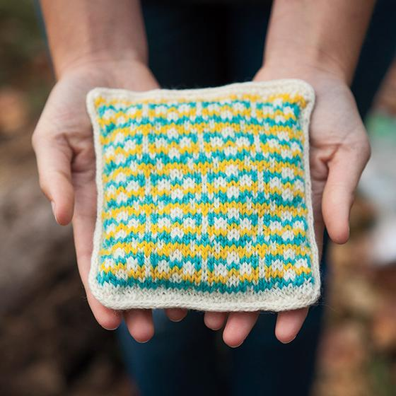 Free Knit Sachet Pattern - Fun with Fair Isle Lavender Sachets - Knitpicks.com
