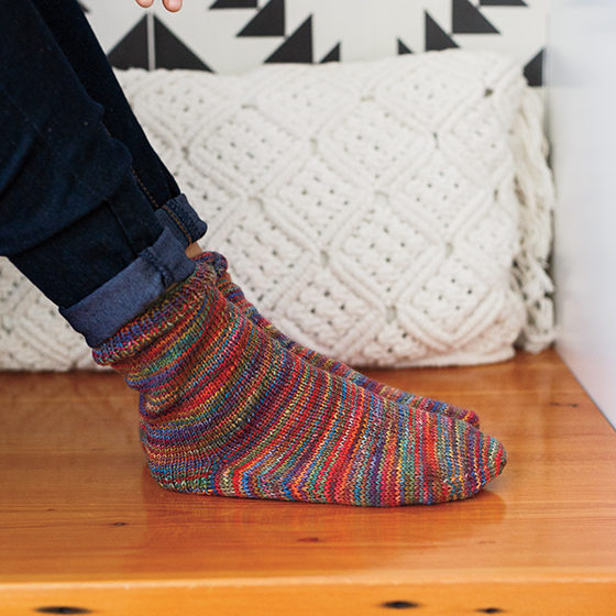 Free Knit and Crochet Patterns in Chroma Twist - Do The Twist Sock from KnitPicks.com