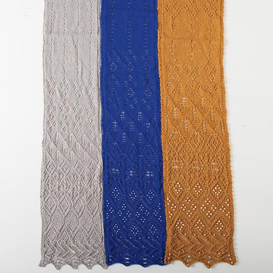 Free Knitting Patterns For Infants : Learn to Knit Lace Scarf - Knitting Patterns and Crochet Patterns from KnitPi...