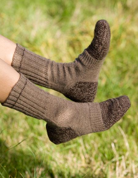 Hiking Socks Pattern - Knitting Patterns and Crochet ...