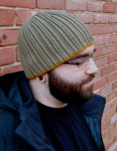 Minion Knitting Patterns : Paradiddle Skull Cap Pattern - Knitting Patterns and Crochet Patterns from Kn...