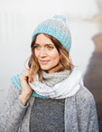 Gradient Hat + Scarf Pattern Kit