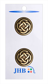 Celtic Knot Button - Gold