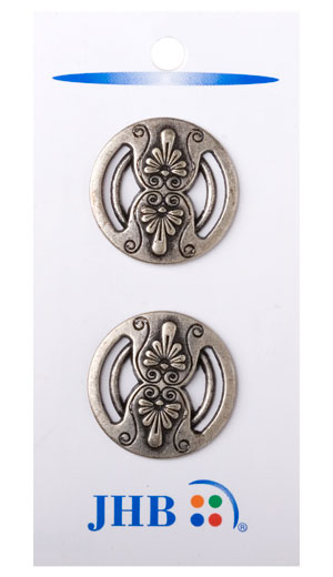 Countryside Buttons - Antique Pewter