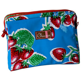 Chic-a Double Zipper Pouch Small